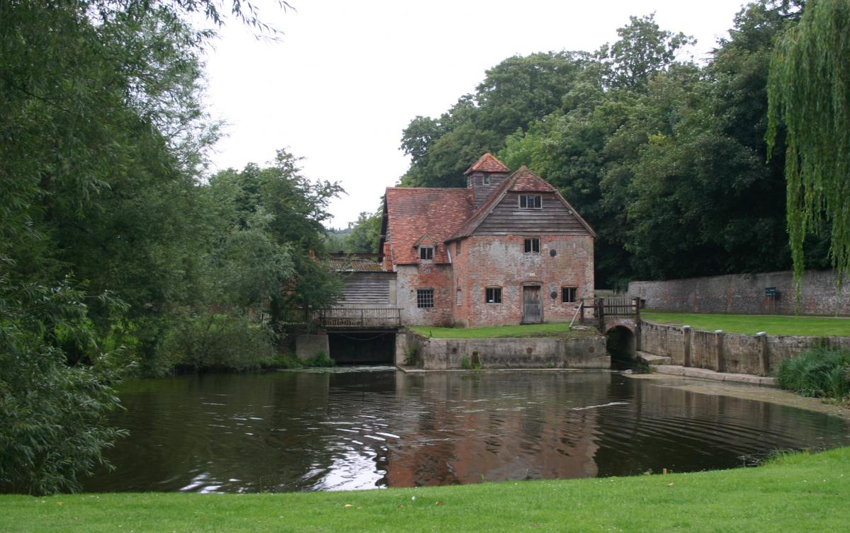 Mapledurham Watermill Edited on Castle Home Plans Medieval